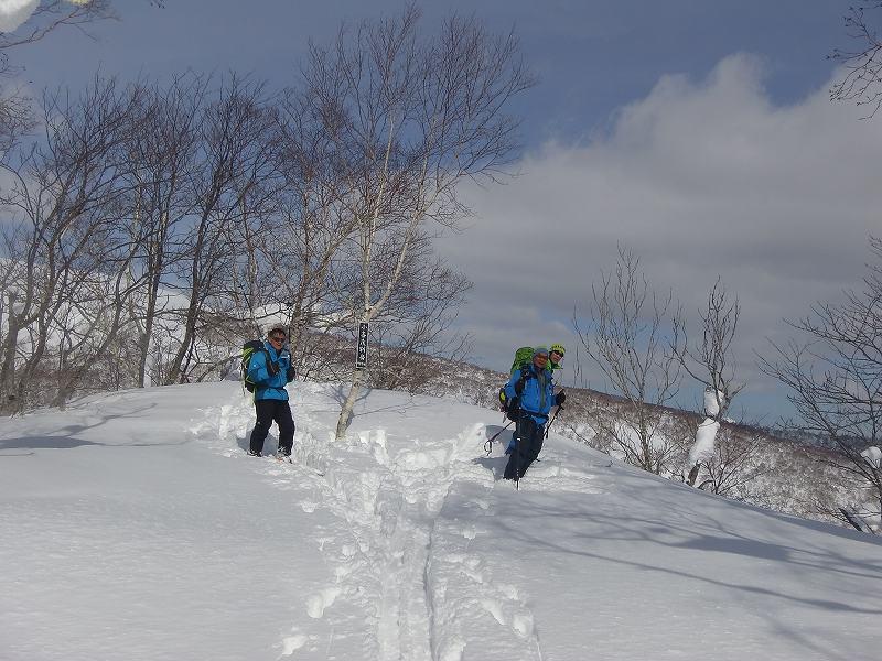 小喜茂別岳:臨時山スキー入門 2018.2.27